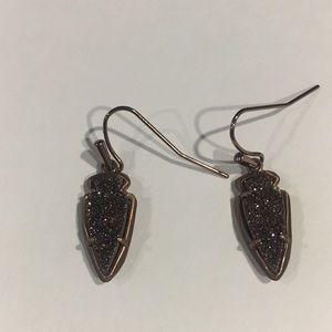 Kendra Scott Chocolate Drusy Earrings